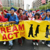 Students march for the DREAM Act