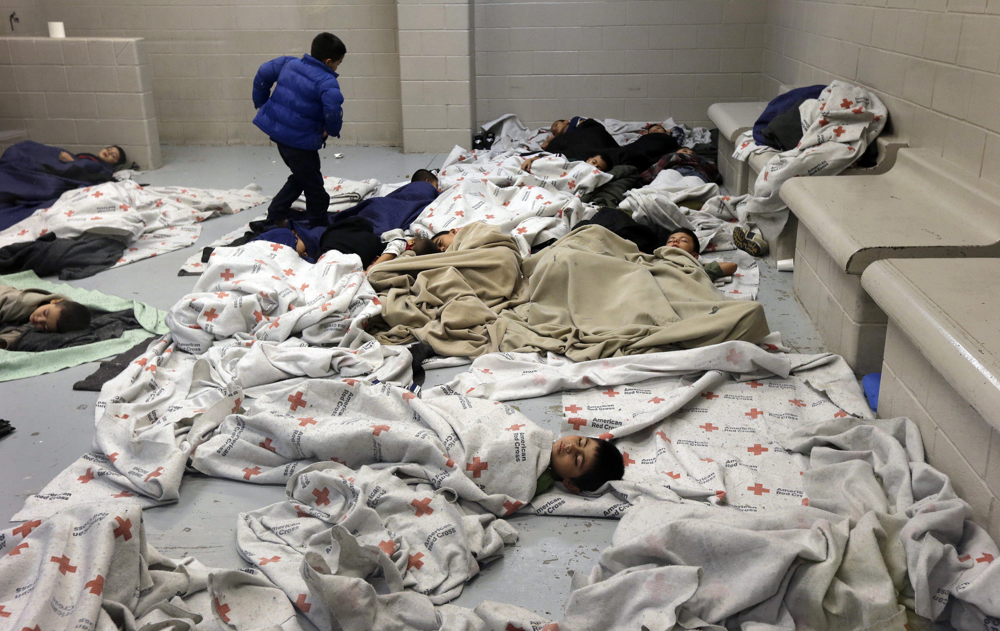 Image result for children immigration detention