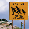 NAFTA's effects on immigration (Photo by Joe Raedle/Newsmakers)