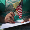 immigrants sworn in as citizens