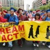 graduates protest for DREAM act